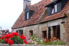 Роскошный дом в Бретани Стоковое фото RF