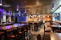 Роскошный ресторан в европейском стиле Стоковая Фотография