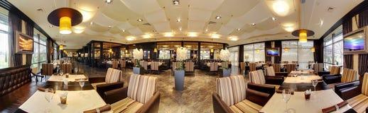 Роскошный ресторан в европейском стиле Стоковое фото RF