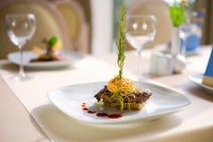роскошный ресторан Стоковые Фото