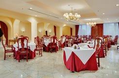роскошный ресторан Стоковое Изображение RF