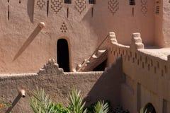 Роскошный сад Kasbah Amridil, Марокко Стоковые Фото
