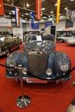 Роскошный серебр Benz Мерседес автомобиля Стоковые Фотографии RF
