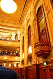 роскошный театр стоковое изображение