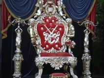 Роскошный трон Стоковое Изображение RF