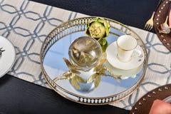 Роскошный dinnerware tableware стоковые фотографии rf