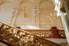 роскошный stairway Стоковые Фото