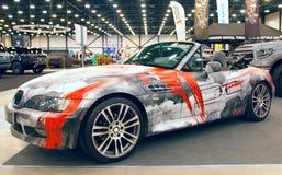 Роскошным cabriolet настроенный немцем Стоковые Изображения RF