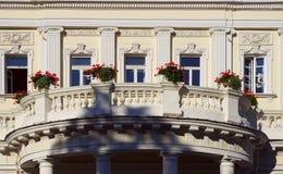 роскошь балкона большая Стоковые Изображения RF