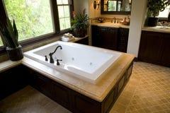 роскошь ванной комнаты домашняя Стоковое Изображение RF