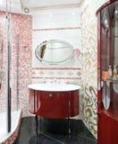 роскошь ванной комнаты новая Стоковое Изображение RF