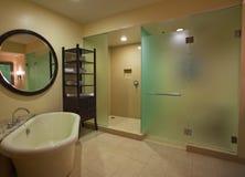роскошь ванной комнаты Стоковые Изображения