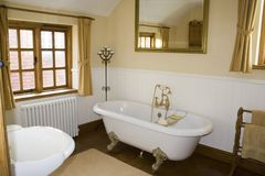 роскошь ванной комнаты Стоковые Фотографии RF