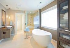 роскошь ванной комнаты Стоковая Фотография