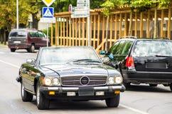 роскошь виллиса автомобиля с дороги Стоковое Фото