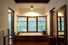 роскошь гостиницы ванной комнаты Стоковое Изображение