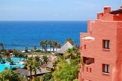 роскошь гостиницы здания пляжа Стоковая Фотография RF