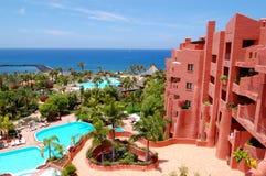 роскошь гостиницы здания пляжа Стоковые Фотографии RF