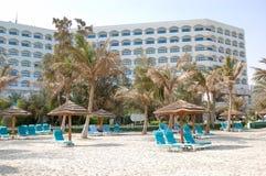 роскошь гостиницы здания пляжа Стоковое Изображение