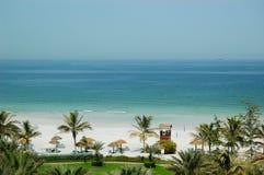 роскошь гостиницы пляжа Стоковое Изображение RF