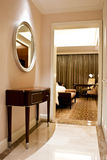 роскошь гостиницы спальни Стоковые Фотографии RF