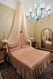 роскошь гостиницы спальни Стоковое Изображение RF