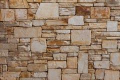 Роскошь, естественная каменная предпосылка картины кирпичной стены Стоковая Фотография RF