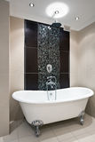 роскошь интерьера ванной комнаты Стоковое Изображение RF