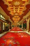 роскошь интерьера гостиницы Стоковые Изображения RF