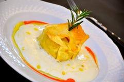 роскошь итальянки еды Стоковые Изображения RF