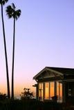 роскошь квартиры прибрежная изолированная одиночная стоковое фото rf