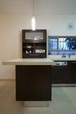 роскошь кухни конструкции Стоковая Фотография