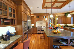 роскошь кухни стоковые фото