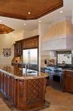 роскошь кухни Стоковое Фото