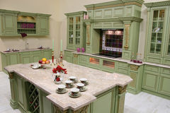 роскошь кухни Стоковое фото RF