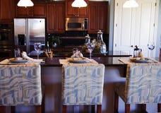 роскошь кухни Стоковая Фотография