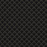 роскошь предпосылки черная Темная геометрическая текстура картины квадратов Стоковые Изображения RF