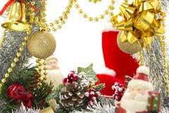 роскошь рамки рождества Стоковое Изображение