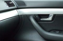 роскошь ручки двери автомобиля Стоковые Изображения RF