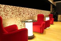 роскошь салона гостиницы стоковое изображение rf