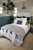 роскошь спальни домашняя Стоковая Фотография RF