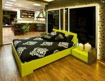 роскошь спальни стоковое фото rf