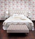 роскошь спальни Стоковые Изображения