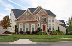 роскошь 15 домов Стоковая Фотография RF