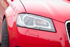 роскошь headlamp автомобиля Стоковое Изображение