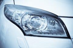 роскошь headlamp автомобиля Стоковые Изображения