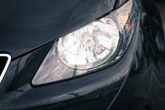 роскошь headlamp автомобиля Стоковое фото RF