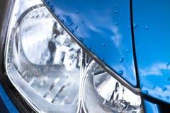 роскошь headlamp автомобиля Стоковые Фотографии RF