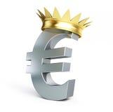 росли золото евро, котор иллюстрация штока