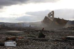 Российская Федерация области Мурманска России покинутая севером стоковое изображение rf